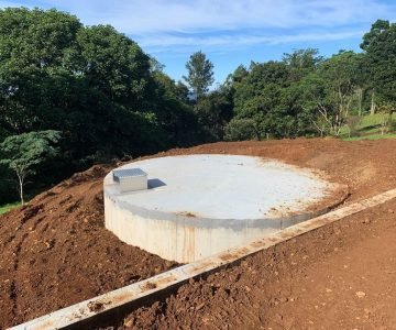 112,000L Concrete Water Tank @ Maleny Sunshine Coast