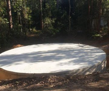 Concrete Water Tank @ Samford North Brisbane