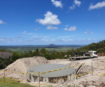 68,500L Concrete Water Tanks @ Ninderry Sunshine Coast