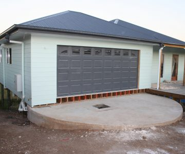 45,400L Concrete Water Tank under Garage and Driveway