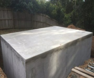 Custom Rectangle Tank @ Buderim Sunshine Coast