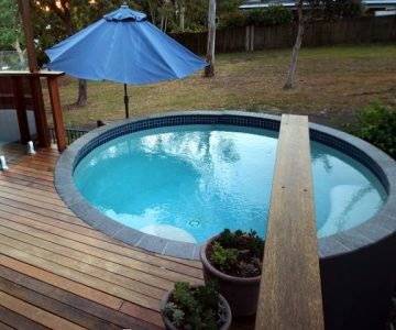 3.75m Concrete Plunge Pool @ Sunshine Beach Noosa